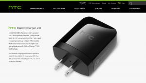 HTC Rapid Charger 2.0 laadt smartphones 40 procent sneller op