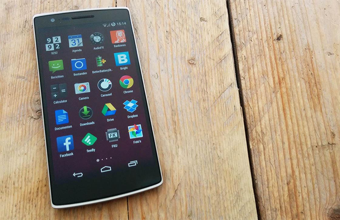 OnePlus One gaat hard: '1 miljoen verkochte exemplaren in 2014'