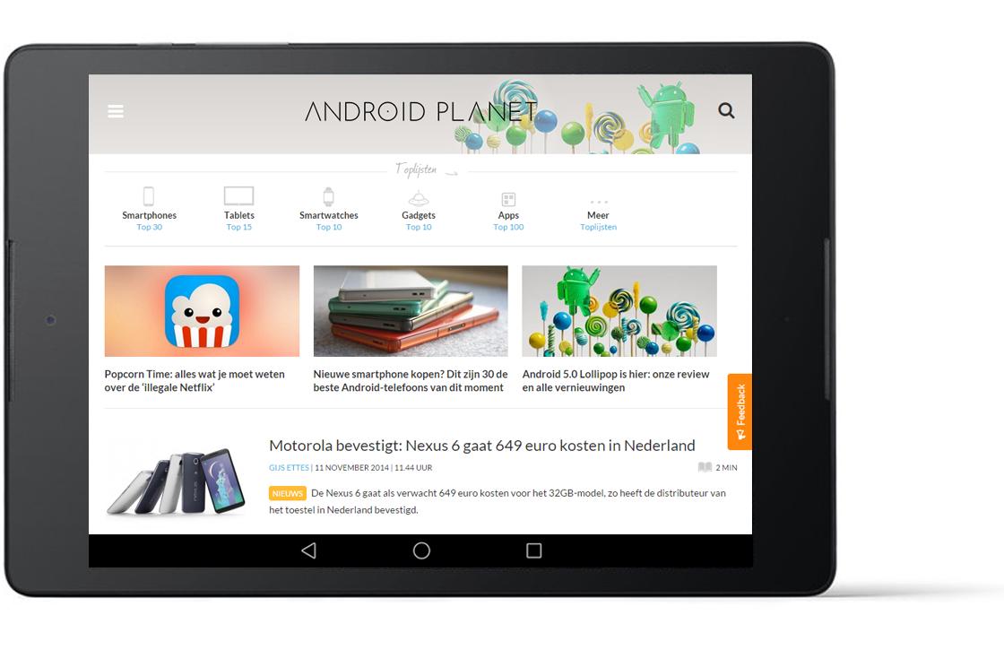 Dit zijn de meest gelezen artikelen op Android Planet van 2014