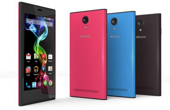 Archos 45C Platinum: budgettelefoon met Android 4.4 KitKat