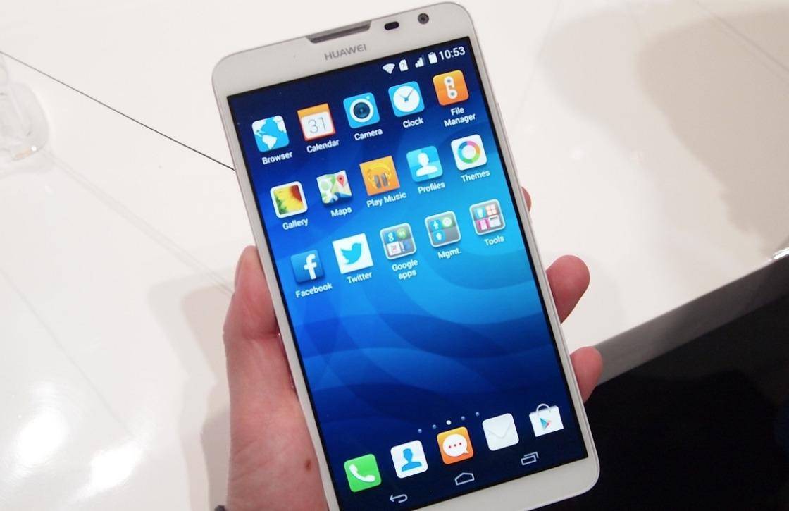 Huawei Ascend Mate 2 Lollipop-update verschijnt in 2015