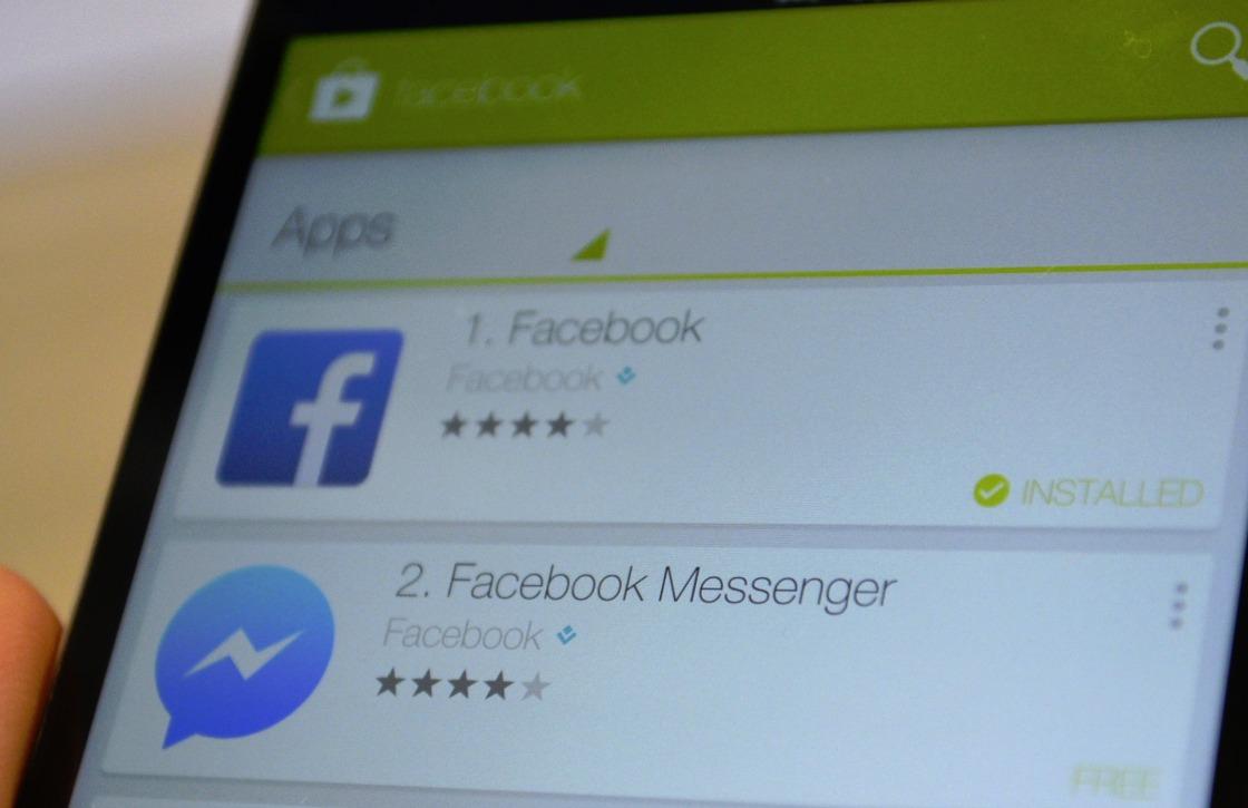 Zo schakel je de chatfunctie van de Facebook-app weer in