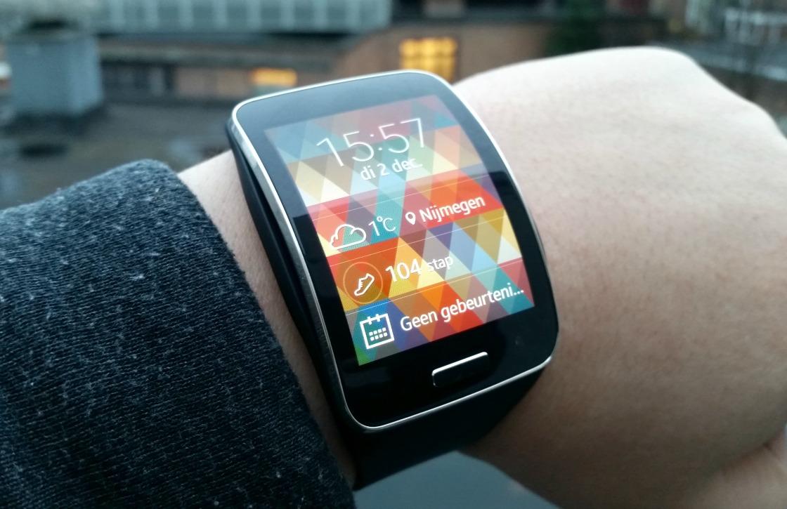 Samsung Gear S Review: logge simkaartsmartwatch is overbodig