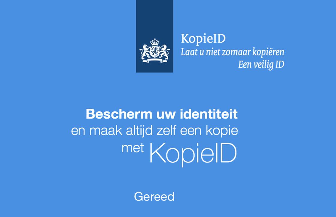 KopieID: officiële app om een veilige kopie van je ID te maken