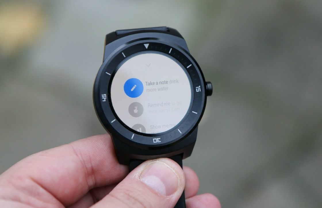 G Watch R videoreview: fraai horloge, matig Android Wear