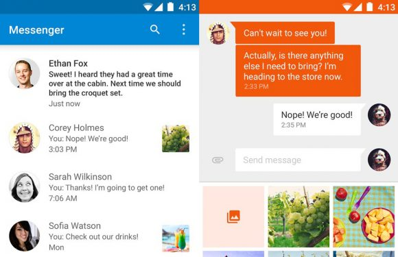 Googles officiële sms-app nu te downloaden