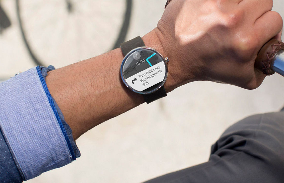 Moto 360 verschijnt in Google Play voor 250 euro