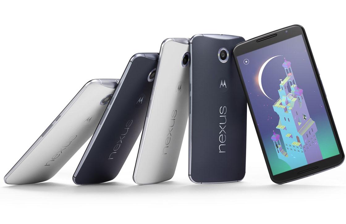 Motorola bevestigt: Nexus 6 gaat 649 euro kosten in Nederland