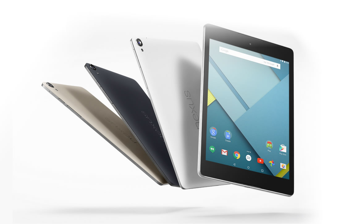 Aanbieding: HTC Nexus 9 nu te koop voor 249 euro