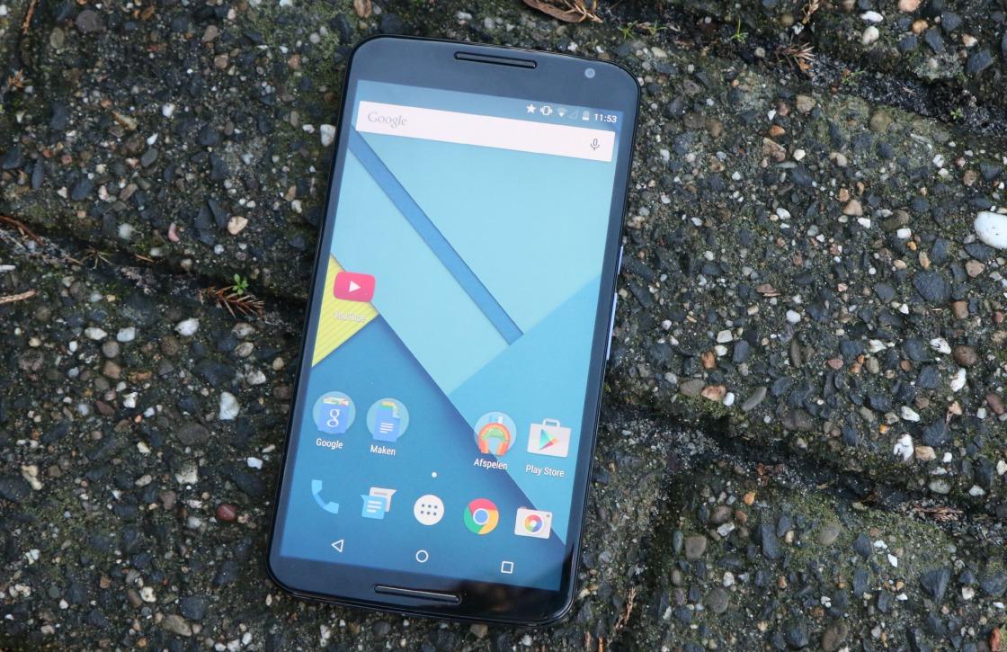 Nexus 6 had bijna een vingerafdrukscanner