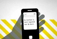 Overheid verstuurt morgen om 12.00 een NL Alert controlebericht