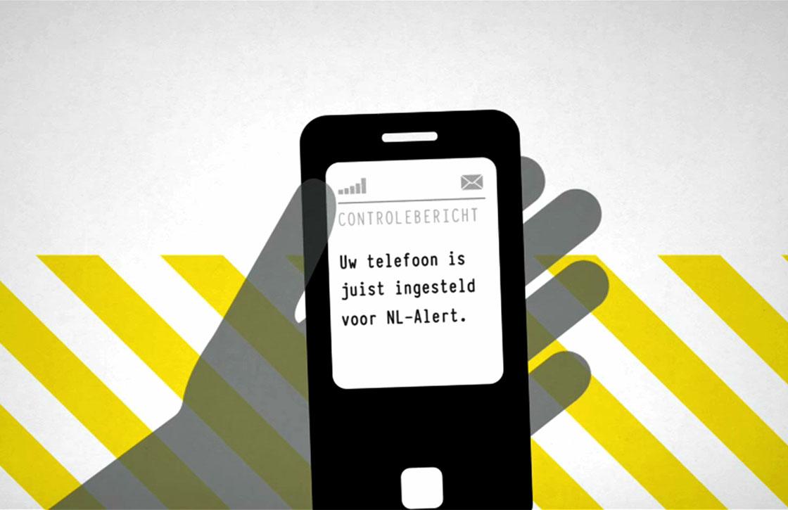 Overheid stuurt morgen om 12.00 uur NL Alert controlebericht uit