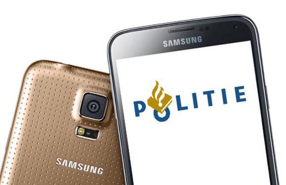 Politie start voorzichtige uitrol Galaxy S5 als nieuwe diensttelefoon