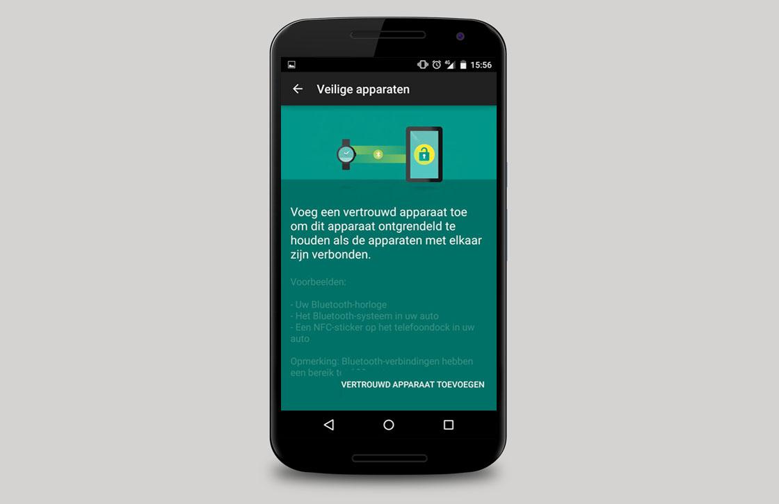 Zo zet je Smart Lock aan in het nieuwe Android