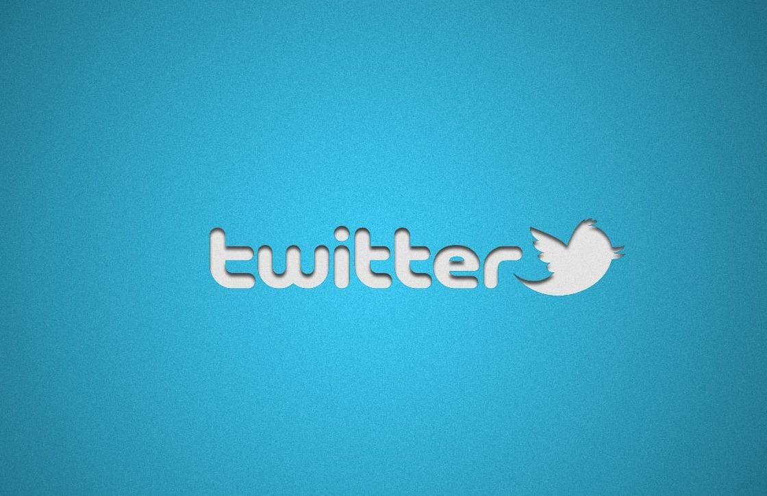 Twitter test ronde Material Design-actieknop