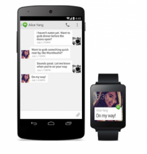 Android Wear-communicatie