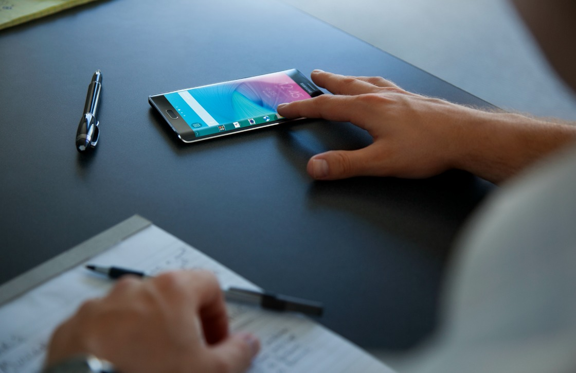Samsung Galaxy Note Edge nu verkrijgbaar in Nederland