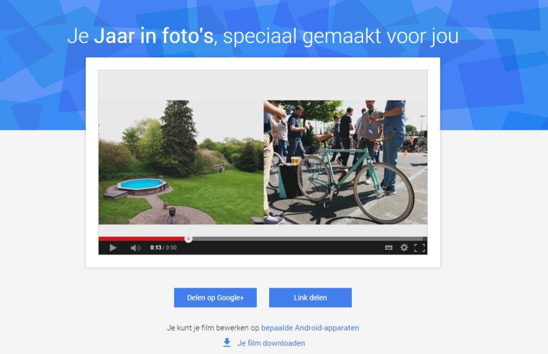 Jouw fotojaaroverzicht nu beschikbaar in Google+