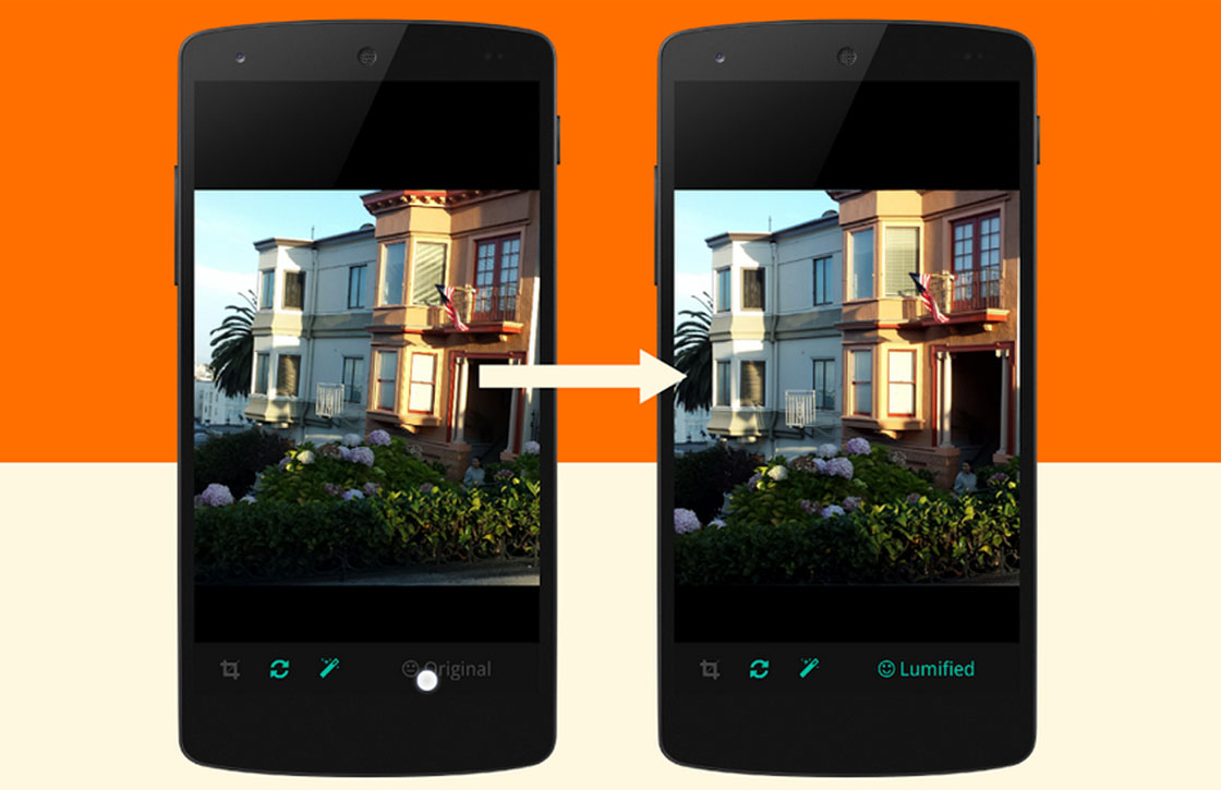 Slimme foto-app Lumific selecteert en verbetert je kiekjes