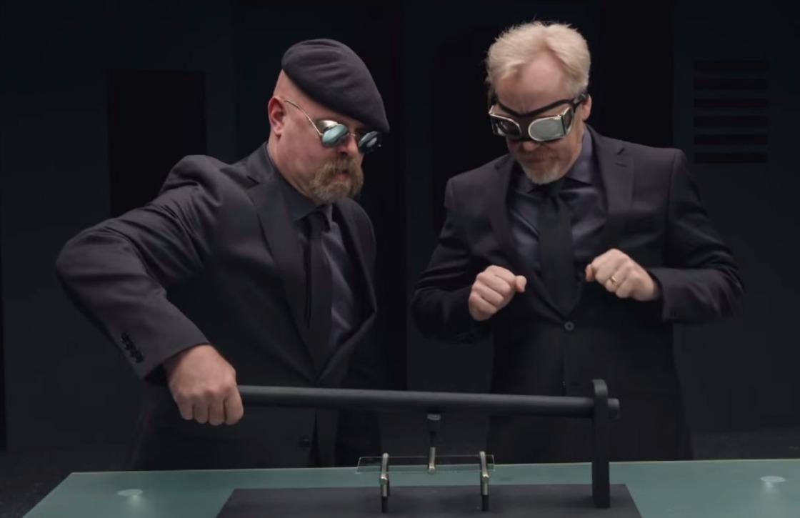 Mythbusters 'testen' sterkte Gorilla Glass