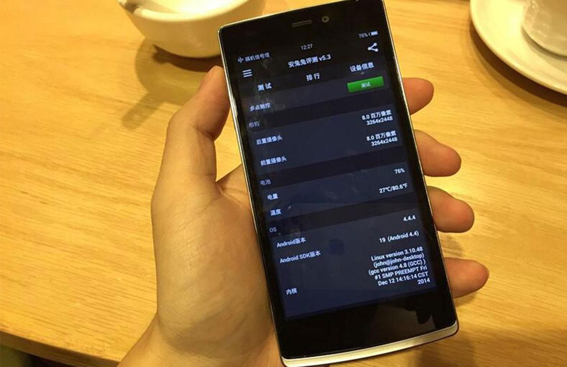 'OnePlus One Mini lekt uit, krijgt 5 inch-scherm'