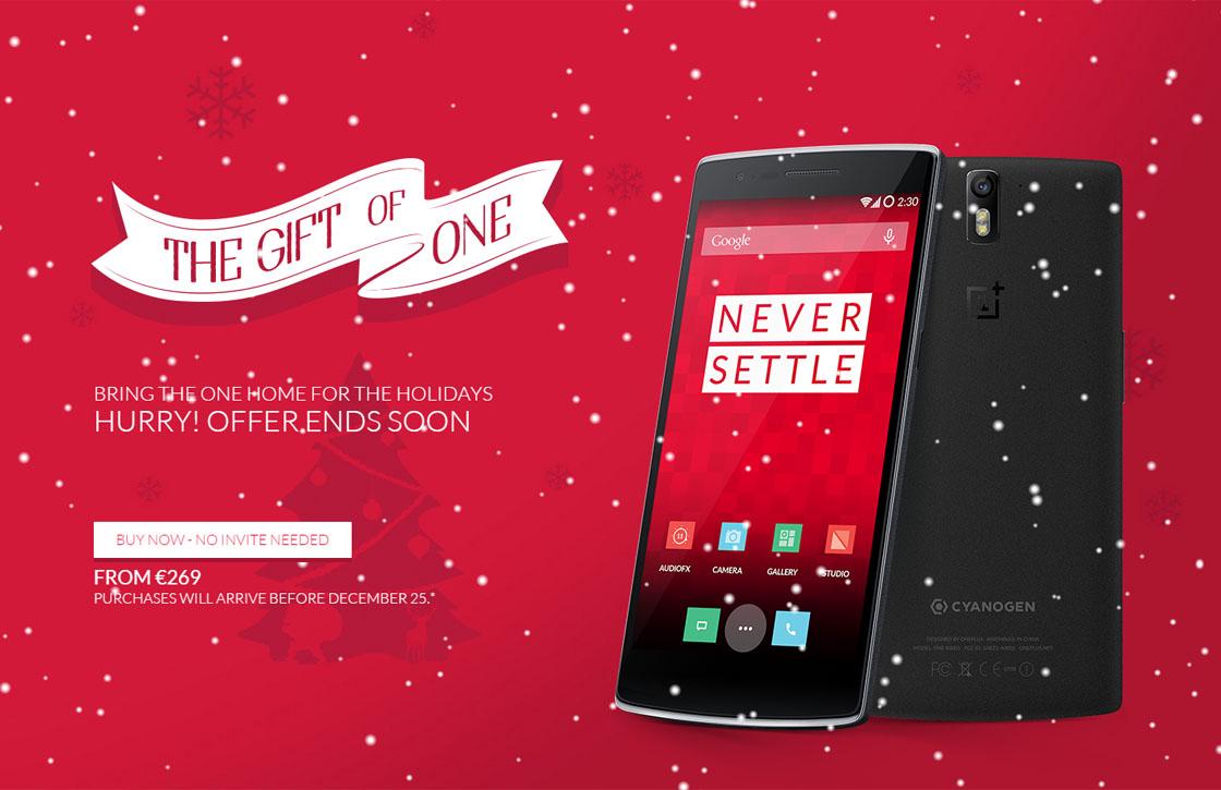 Kersttip: OnePlus One weer zonder invite te kopen – update