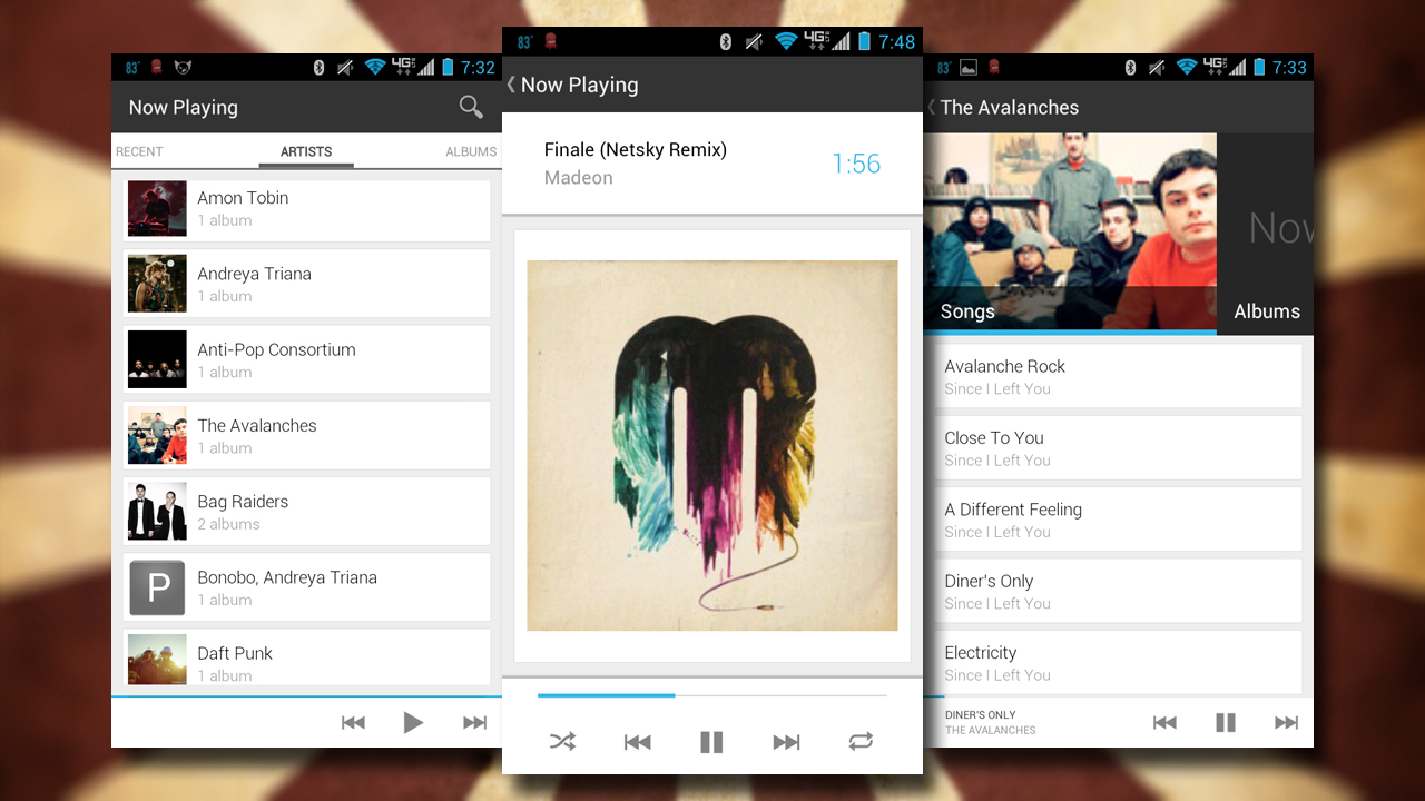 Pixel Player is een simpele en krachtige muziekspeler voor Android