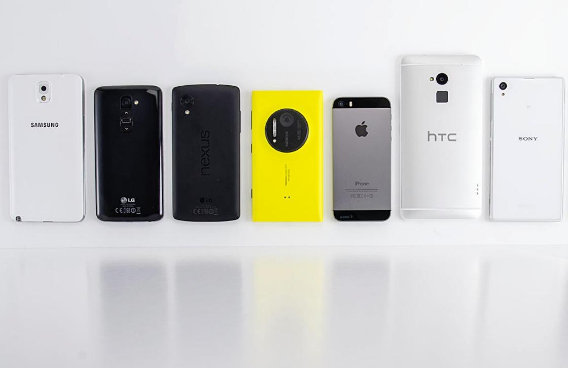 '55-plussers kiezen steeds vaker voor smartphone'