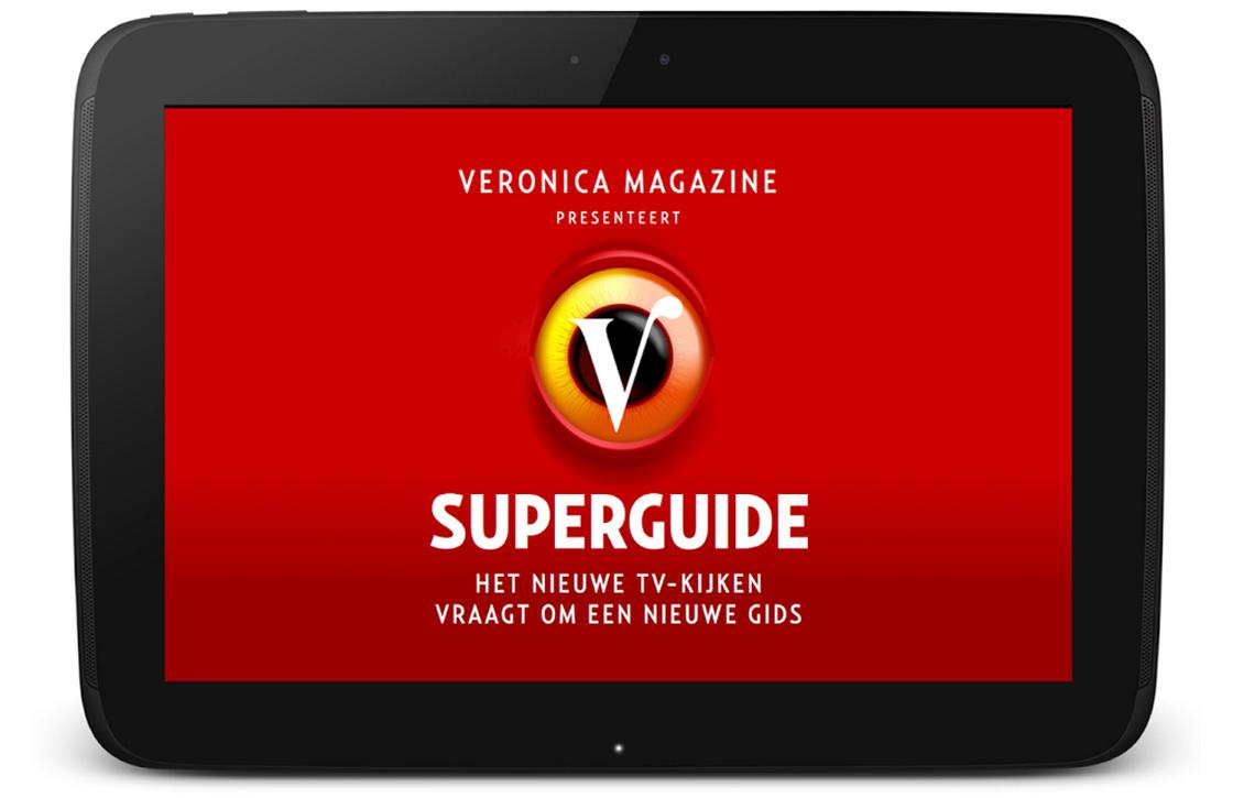 Veronica lanceert digitale televisiegids met kijktips