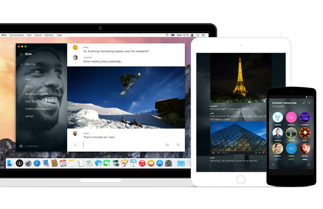 Wire: nieuwe app laat je chatten en bellen in stijl