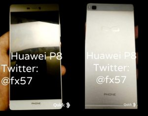 Huawei P8 foto's
