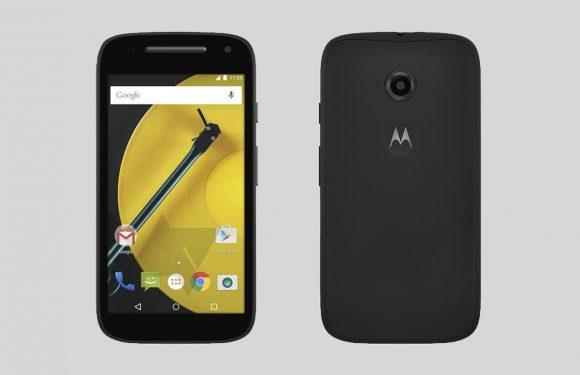 'Persrender toont opvolger goedkope Motorola Moto E'
