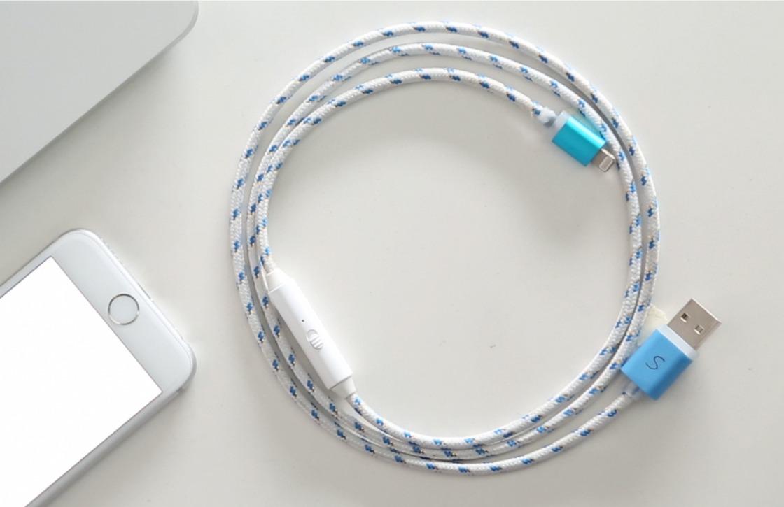 Deze kabel laadt je Android-toestel twee keer zo snel op