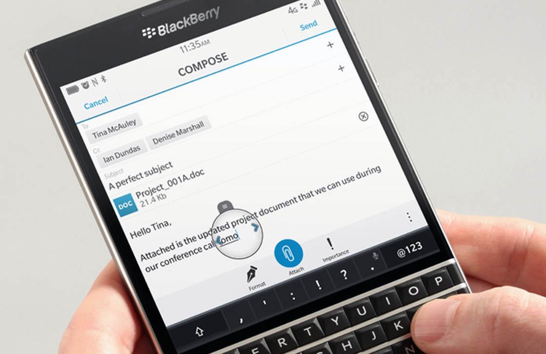 Waarom Samsung interesse zou hebben in BlackBerry