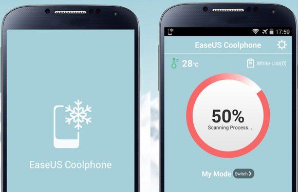 Maak je smartphone koeler met Coolphone voor Android