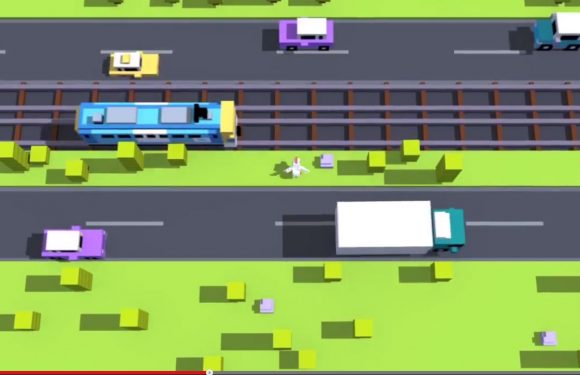 Crossy Road is een eindeloze versie van Frogger
