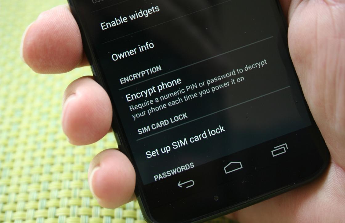 Encryptie op Android: zo gebruik je jouw toestel veiliger