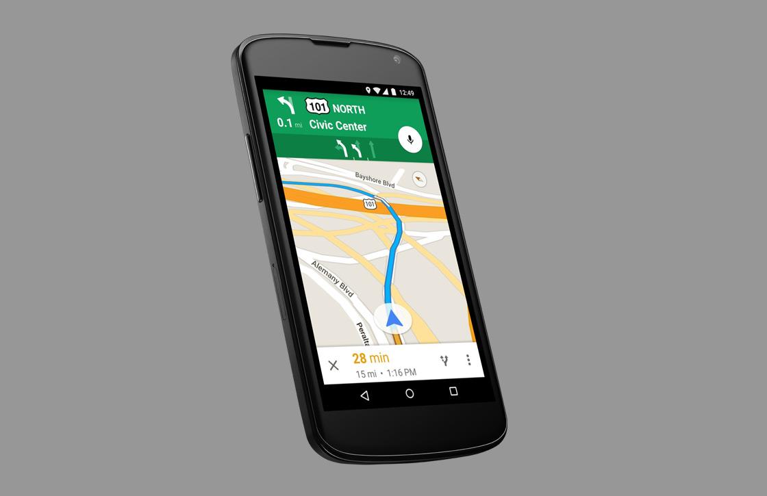 Routes delen in Google Maps mogelijk met nieuwe app