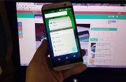 Android 5.0 Lollipop op HTC One M8 te zien in video