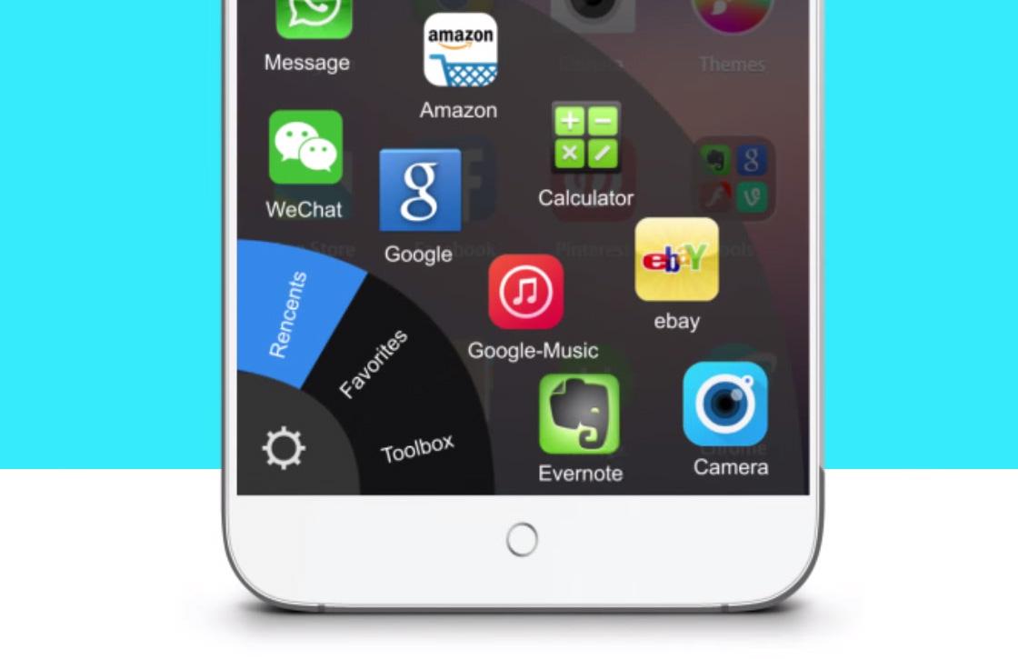 Deze app laat je gemakkelijker grote telefoons bedienen