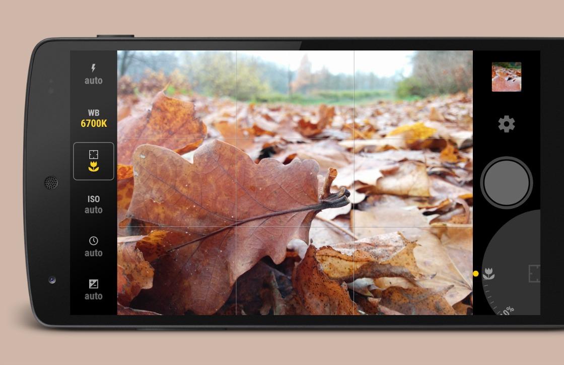 Manual Camera geeft je volledige controle over je camera en foto's