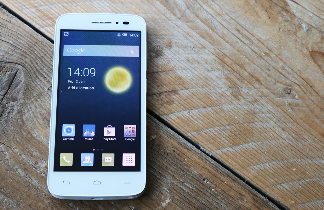 Alcatel One Touch Pop 2 Review: goedkoop, maar middelmatig