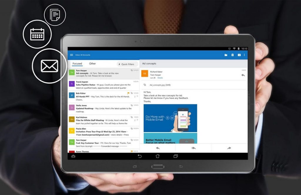 outlook android-app