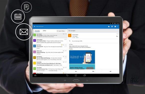 Fijne e-mail-app Outlook nu voor iedereen te downloaden