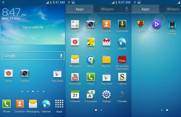 'Samsung gaat TouchWiz versimpelen, wordt meer als stock Android'