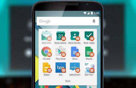 Android for Work gaat werk en privé op je apparaat scheiden