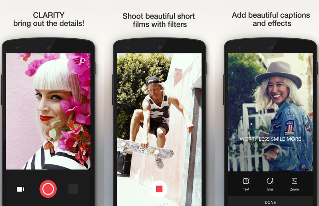 Camu: uitstekende foto-app laat je gemakkelijk foto's bewerken