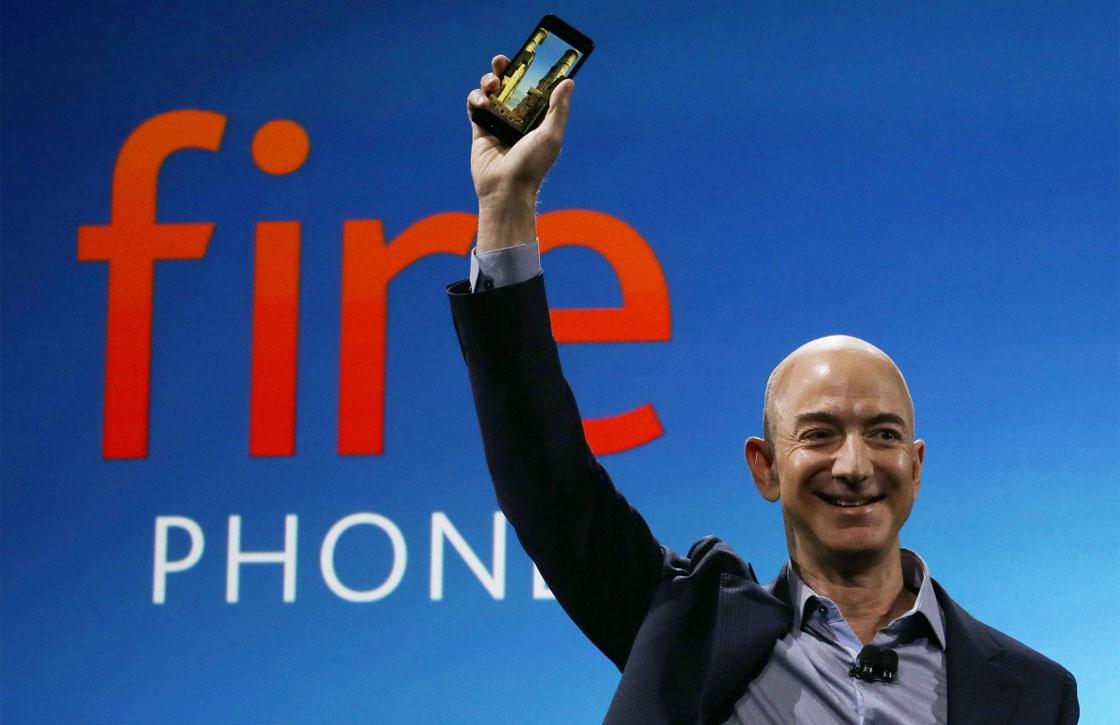 Amazon dumpt Fire Phone, prijs sterk gedaald