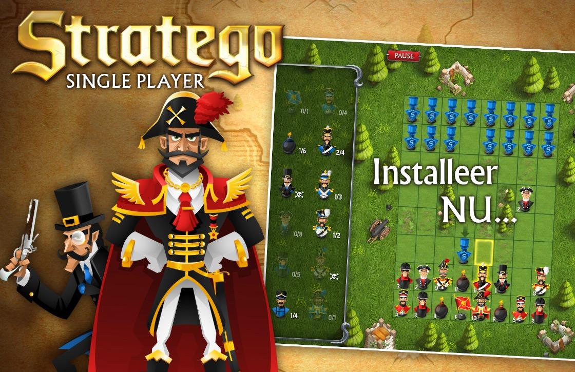 Officiële Android-game Stratego nu te downloaden