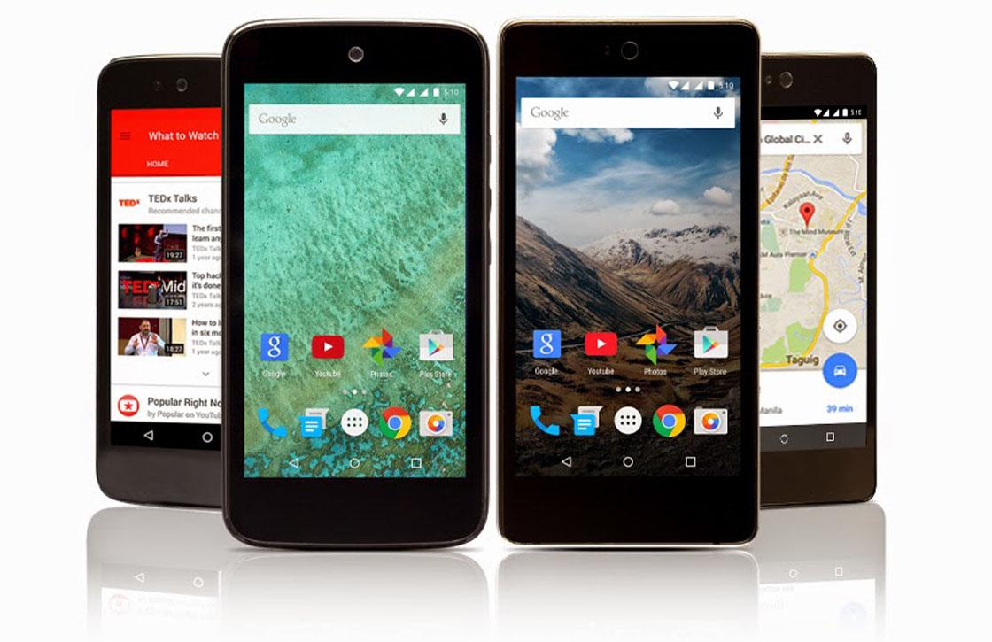 Google brengt nieuwe Android One-toestellen met Android 5.1 uit